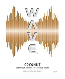 Wave Vodka Coconut